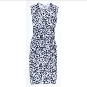 Reiss Sleeveless Printed Stretch Bodycon Dress 2